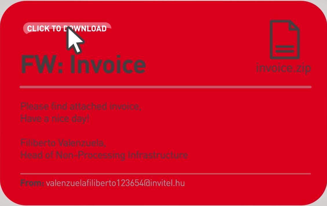 ransomware trussel e-post